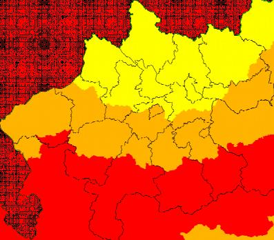 Aktuelle Unwetterwarnungen Oberösterreich
