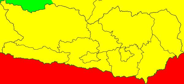 Aktuelle Unwetterwarnungen Kärnten