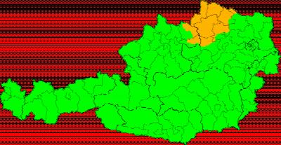 Unwetterwarnungen Österreich